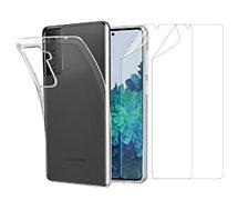 Pack Essentielb  Samsung S21+ Coque + Film protecteur