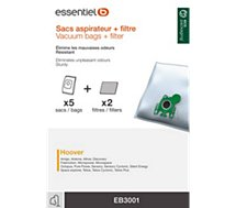 Sac aspirateur Essentielb  EB3001