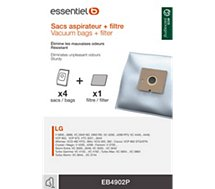 Sac aspirateur Essentielb  EB4902P