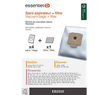 Sac aspirateur Essentielb  EB2500