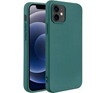 Coque Essentielb  iPhone 12 mini Fun vert foncé