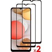 Protège écran Essentielb Samsung A12 Verre trempé intégral x2