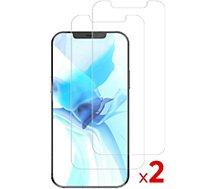 Protège écran Essentielb  iPhone 12/12 Pro Verre trempé x2
