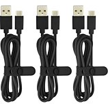 Câble USB C Essentielb Noir 3x 1m