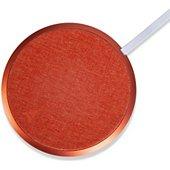 Chargeur induction Adeqwat sans fil orange