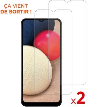 Essentielb Samsung A03s Verre trempé x2