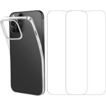 Essentielb iPhone 13 Pro Max Coque + Verre trempé