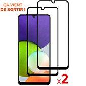 Protège écran Essentielb Samsung A22 4G Verre trempé x2