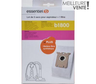 Sac aspirateur Essentielb B1800