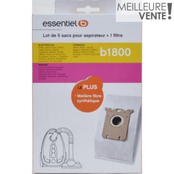 acheter en ligne bon marché bonne vente Sac aspirateur Essentielb B1800