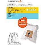 Sac aspirateur Essentielb  B1900