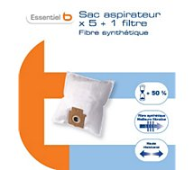 Sac aspirateur Essentielb  B2702