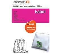 Sac aspirateur Essentielb  B3001