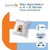 Sac aspirateur Essentielb B3200