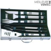 Ustensiles barbecue Essentielb set barbecue 5 pièces