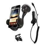 Support smartphone Essentielb  Voiture ventouse + Cable micro-USB