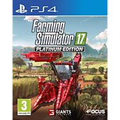 Jeu PS4 Focus Farming Simulator 17 - Edition Platinum