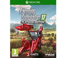 Jeu Xbox One Focus  Farming Simulator 17 - Edition Platinum