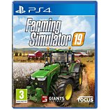 Jeu PS4 Focus Farming Simulator 19