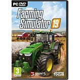 Jeu PC Focus  Farming Simulator 19