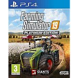 Jeu PS4 Focus  Farming Simulator 19 Edition Platinum