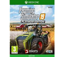 Jeu Xbox One Focus  Farming Simulator 19 Edition Platinum