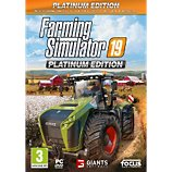 Jeu PC Focus  Farming Simulator 19 Edition Platinum