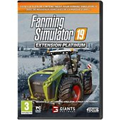 Jeu PC Focus Farming Simulator 19 Extension Platinum