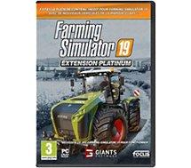 Jeu PC Focus  Farming Simulator 19 Extension Platinum