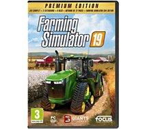Jeu PC Focus  FARMING SIMU 19 ED.PREMIUM
