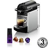 Nespresso Magimix M110 Pixie Gris aluminium 11322