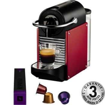 magimix m110 pixie rouge carmin 11325 nespresso boulanger. Black Bedroom Furniture Sets. Home Design Ideas