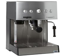 Machine à expresso Magimix 11414 AUT CHROME MAT