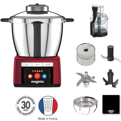 Location ROBOT CUISEUR MAGIMIX COOK EXPERT ROUGE