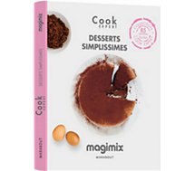 Livre de cuisine Magimix  Desserts simplissimes Cook Expert