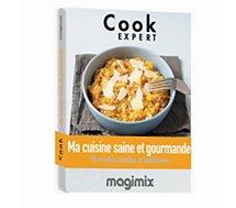 Livre de cuisine Magimix  Cuisine saine et gourmande Cook Expert