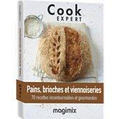 Livre de cuisine Magimix Pains brioches viennoiserie Cook Expert