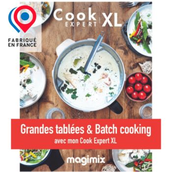 Magimix Grande tablée Batch cooking Cook Expert