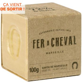 Fer À Cheval Cube Marseille végétal 100g