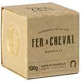 Savon Fer À Cheval  Cube Marseille végétal 100g