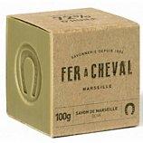 Savon Fer À Cheval  Cube Marseille olive 100g
