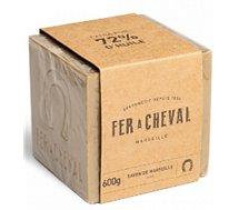 Savon Fer À Cheval  Cube Marseille olive 600g