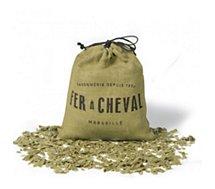 Sac copeaux Fer À Cheval  Olive - savon de Marseille 750g