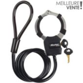 Antivol Master Lock Menottes Street Cuff avec cable à boucle