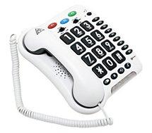 Téléphone filaire Geemarc  CL100 Blanc