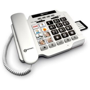 Geemarc Photophone 100 Blanc
