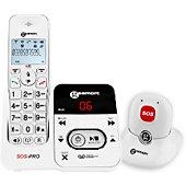 Téléphone sans fil Geemarc Amplidect 295 SOS Pro Blanc