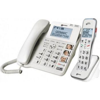 Geemarc Amplidect Combi 595 Geemarc Téléphone Se