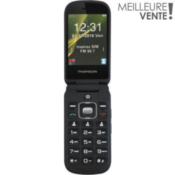 téléphone portable thomson serea 75 noir