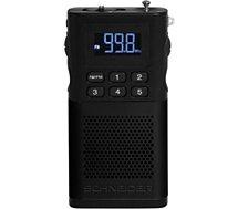 Radio analogique Schneider  Piccolo noir